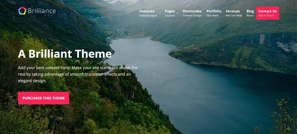 Brilliance-elegant-design-theme