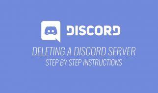 Delete Discord Server