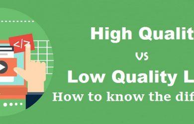high-quality-vs-low-quality-link