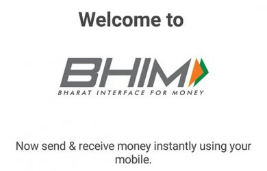 step by step guide to use BHIM app