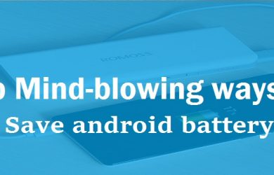 ways-to-save-android-battery