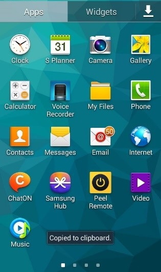 Create an Email on an android smartphone